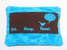 eat sleep tweet