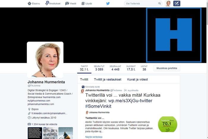 JH Twitterprofiili 2014 uusi