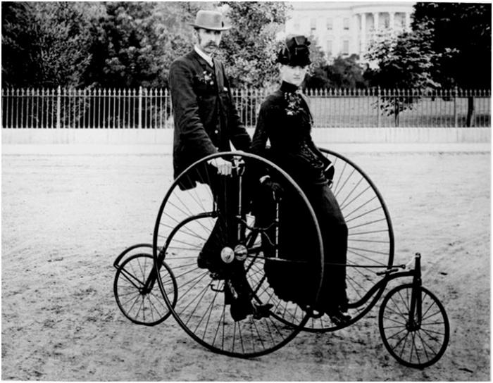 vanha polkupyöräkyyti
