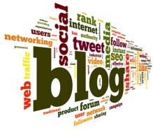 blog web social share