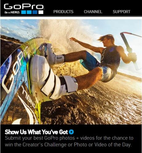 GoPro asiakkaiden tuottama sisältö
