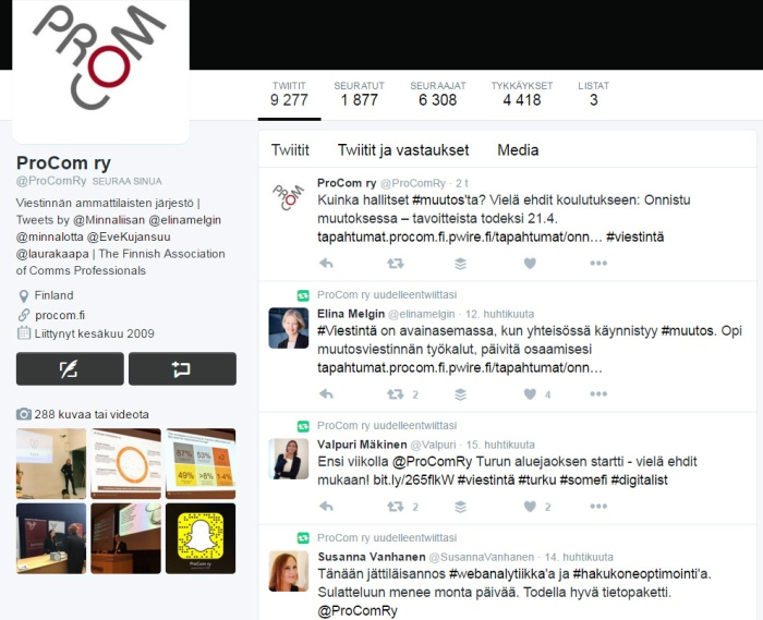 ProComRy Twitter