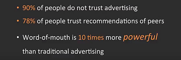 90% do not trust advertising