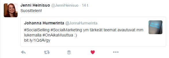 OAM suosittelu JenniH